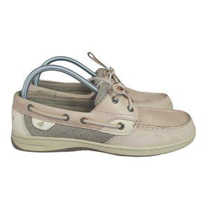 Sperry Top Sider Boat Shoes Womens 9.5 Casual Lace